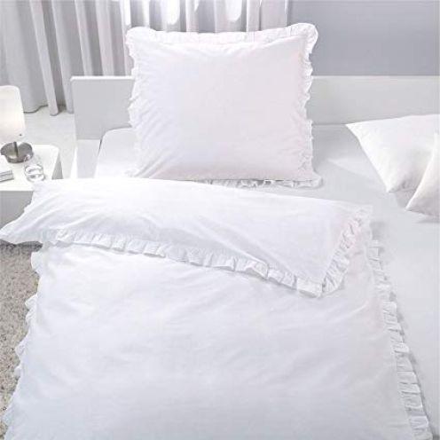 7dreams Romantische Bettwäsche mit Rüschen