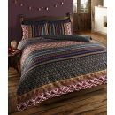 De Cama Indian Ethnic Print Orkney Bettwäscheset