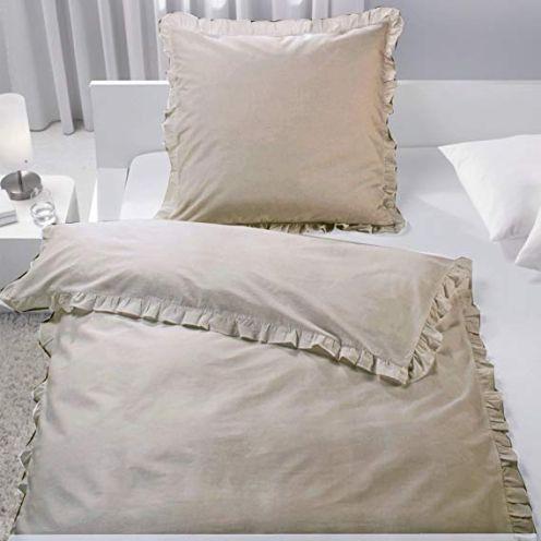 JEMIDI Bettwäsche mit Rüschen
