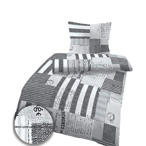 Soma Biber Bettwäsche 2 teilig Bettbezug