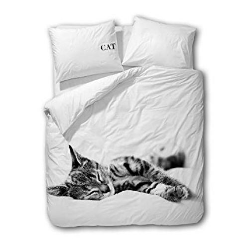 Traumschlaf Wendebettwäsche Cat