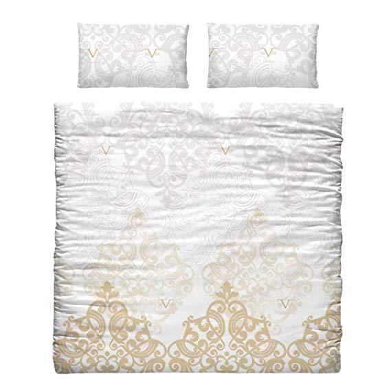 Versace 19 V69 Bettdecke und Kopfkissenbezug für Einzelbett